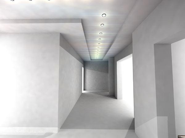 Illuminare il corridoio casadellalampadine