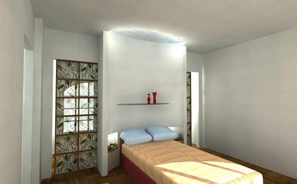 Gianfranco tavella ambientazioni d 39 interni in - Camere da letto in cartongesso ...